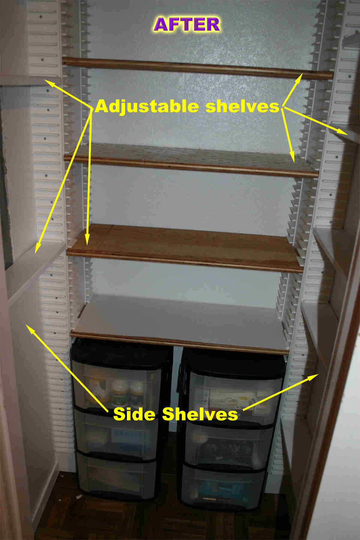 Closet Storage